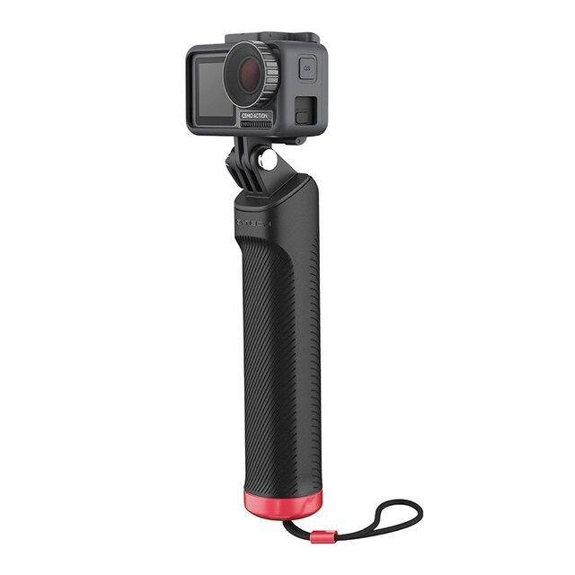 Ação de pgytech dji osmo/bolso selfie vara lidar com apertos para gopro hero 9 8 7 6 5/insta360 um x/ /xiao yi câmera esportiva