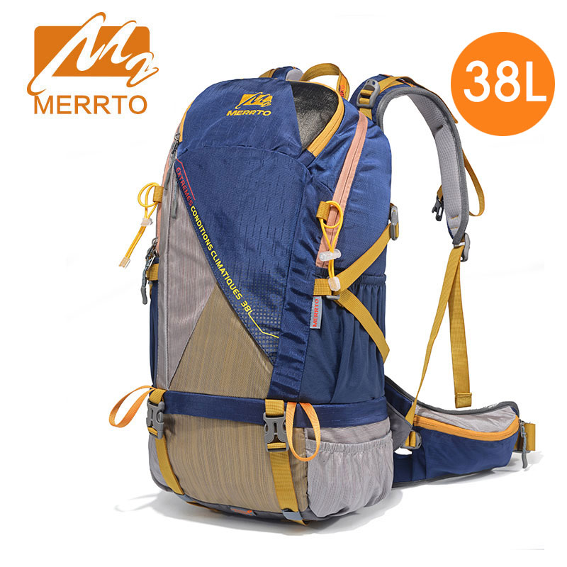 цены 30L 38L Internal Frame Long Haul Climbing Bag CR Carrying System Terylene Material Unisex Travel Camping Outdoor Sport Backpack