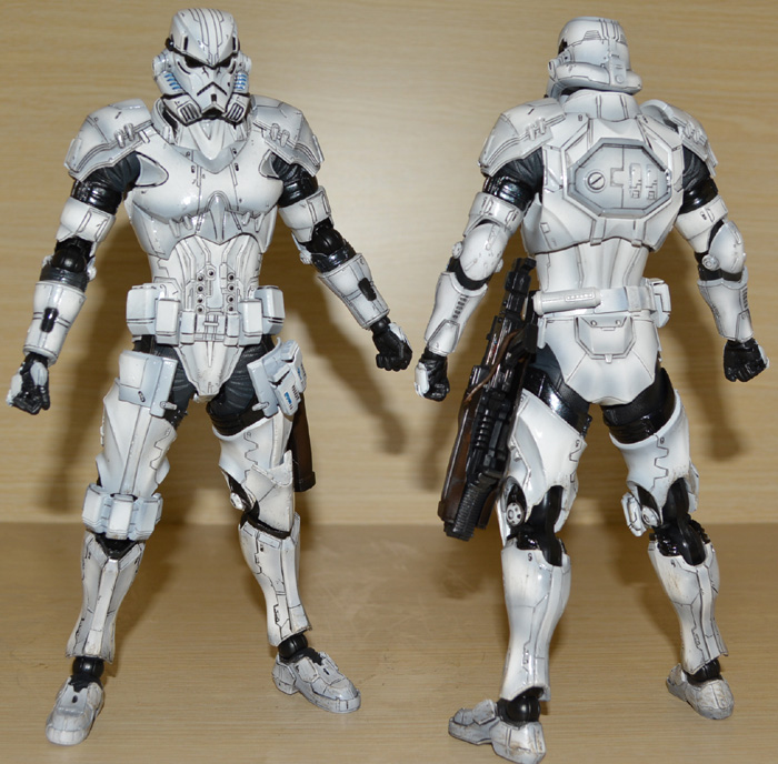 Star Wars Action Figure Play Arts Kai Imperial Stormtrooper Collection Model Toy