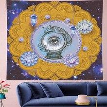 Angles eye indian mandala tapest Wall Hanging hippies wall towel personality Home Decor bohemian Beach Mat GN.PAPAYA