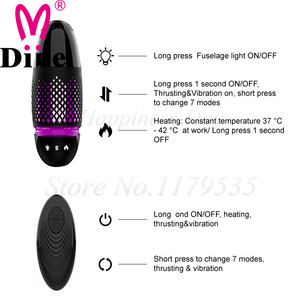 Image 3 - New Smart Heating Automatic Telescopic Dildo Suction Cup Dildo Skin Feeling Realistic Vibrator Penis Big Dick Sex Toys for Women