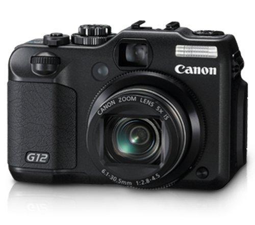 Utilisé, Canon G12 10 MP appareil photo numérique avec 5x D'image Optique Zoom Stabilisé et 2.8 Pouces à Angle Variable LCD