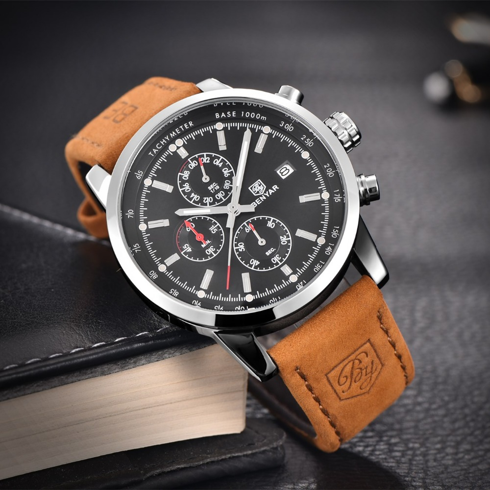 luxury mens watch waterproof wrist top watches products clock leather naviforce hour date quartz sport brand man men