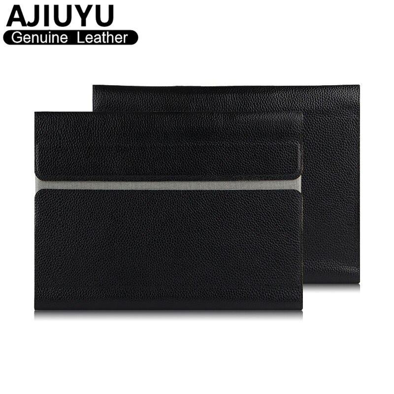 Genuine Leather For Lenovo Yoga Tab 3 Plus Case Sleeve Cover Protective Smart Tablet YOGA TAB3 Plus YT-X703F X703F 10.1 Cowhide new original for lenovo thinkpad yoga 260 bottom base cover lower case black 00ht414 01ax900