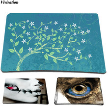 2017 New Arrival Viviration Laptop Computer Gaming Mouse Mat Fashion Anti-slip Mouse Pad For Optical Laser Mouse Trackball Mice