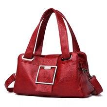 High Quality Leather Ladies Hand Bags Big Tote for Women 2019 Designer Women Shoulder Crossbody Bags Brand Luxury Travel Handbag