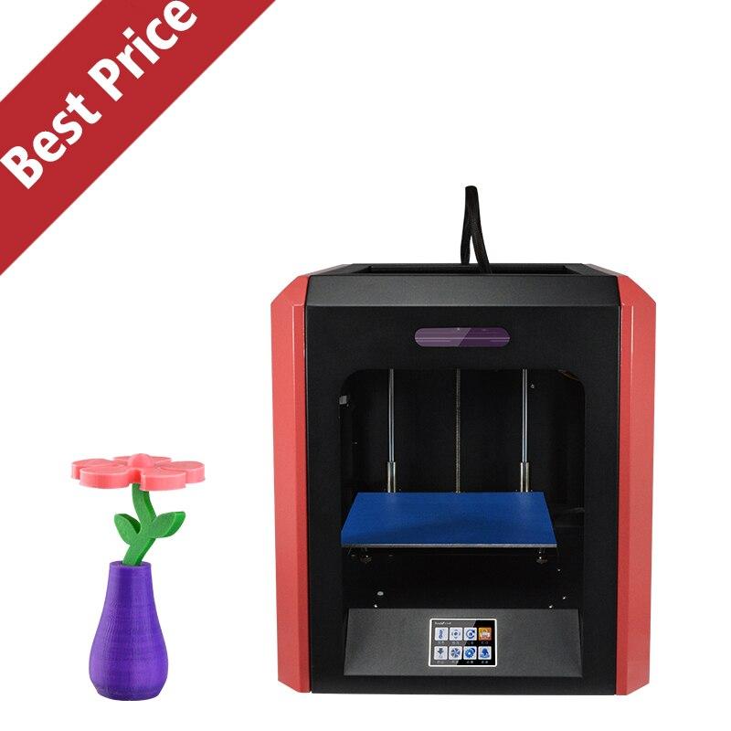 2017 Nuevo Modelo de Gran Tamaño de Impresión Completamente Cerrada Impresora 3D