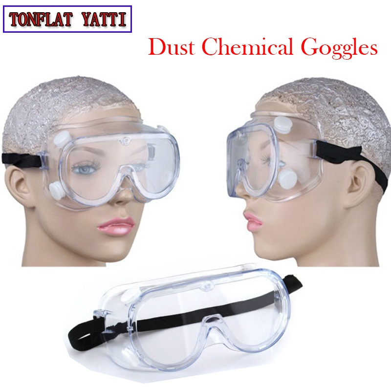 Anti dust goggles Chemical Anti-wind goggles Working safety Prevent splashing anti-impact multi-mirror protective labor glasses sperian 110110 s600a streamlined anti impact safety glasses working glasses c100505