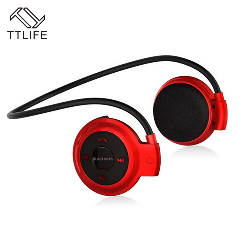 2017 TTLIFE Wireless Headphones Bluetooth Mini 503 Music Stereo Earphones with Mic Support Memory Card for iPhone 7 xiaomi Phone