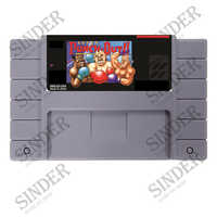 Save File Super Punch Out 16 bit Super Game Card For NTSC USA Game Player