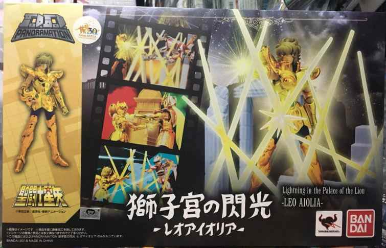 "Anime ""Saint Seiya"" Originele Bandai Tamashii Naties D.D. Panoramation/Ddp Action Figure - Leo Aiolia -Shishikyuu Geen Senkou-"