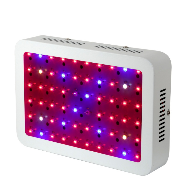 600W 100LED Grow Light Full Spectrum LEDs Plant Lighting Lamp for Plants Seedings Flowers Growing Greenhouses new 600w led grow light full spectrum leds plant lighting lamp for plants seedings flowers growing greenhouses 100 6w double chips