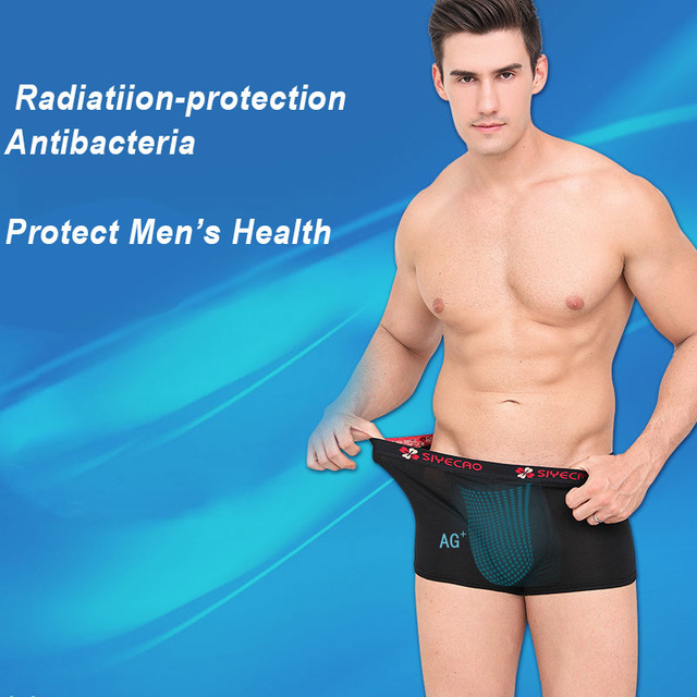 Men underwear radiation protection