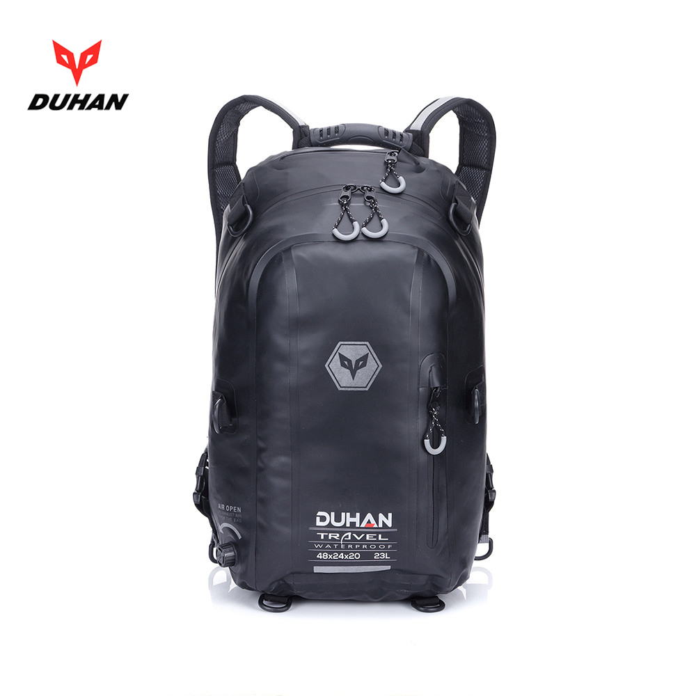 купить Duhan motorcycle backpack waterproof helmet bag original authentic rider moto helmet package tank bag moto luggage shoulder bag недорого