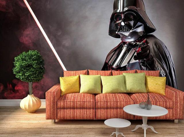 custom HD photo 3d room wallpaper mural Star Wars character Painting sofa TV background non-woven sticker wallpaper for walls 3d