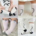 0-4Y Baby Infant Toddler Children Kids Girls Cotton Knee High Socks Leggings Cute