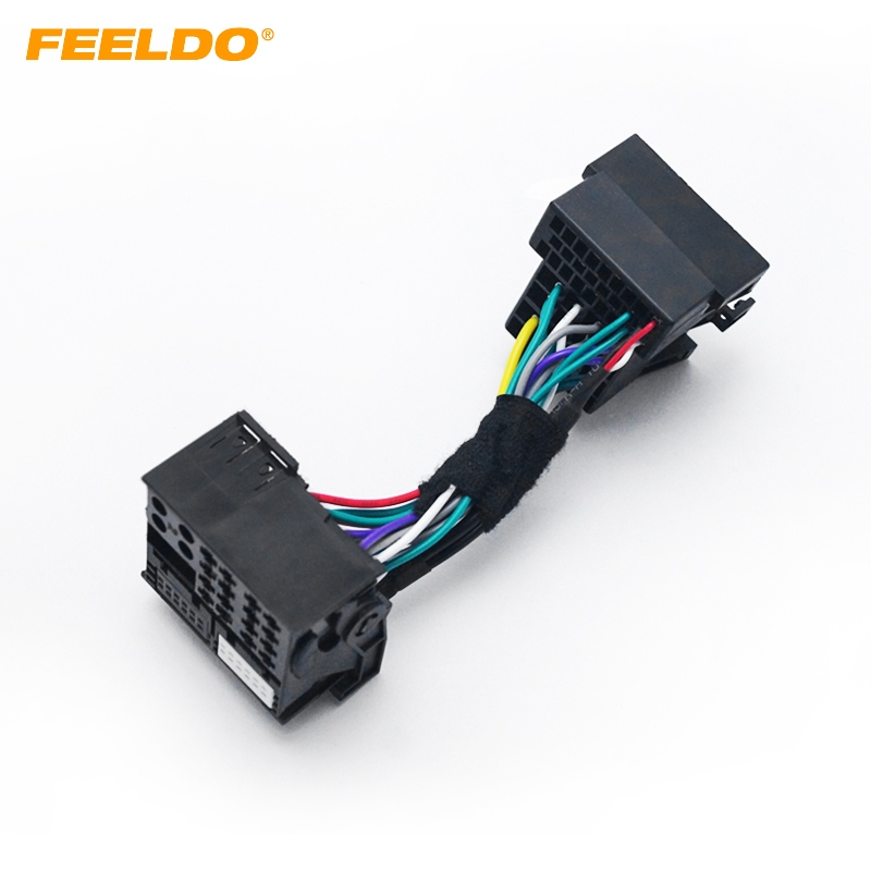 FEELDO 36pin Male Connector Adapter To 40pin Head Unit Stereo ... on car wiring supplies, leather dog harness, car stereo sleeve, car stereo with ipod integration, car fuse, car speaker, car stereo cover, car stereo alternators, 95 sc400 stereo harness,
