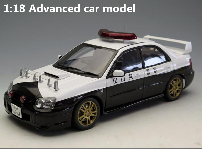 Autoart 1:18 Advanced alloy car model, high simulation Subaru Impreza WRC STI, collection model toys vehicle , free shipping autoart 1 18 nissan alto skyline nismo s1 alloy model car