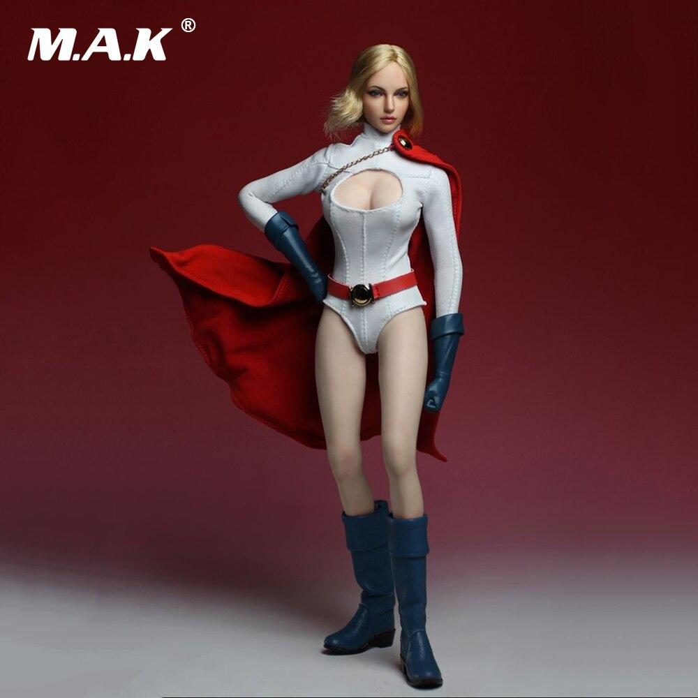 DIY Super Girl Power Women Super Duck SET010 Suits+TB Body Full Sets Figure 1//6