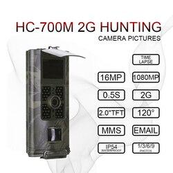 16MP 2G SMS Jacht Camera 700M GSM MMS Trail Camera game Nachtzicht Hunter scout Wilde Foto Vallen jacht motion camera