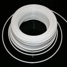 1/4 ''PE трубы 10 м белый гибкий водопроводный шланг фитинг соединитель для RO фильтр воды системы аквариум обратного осмоса