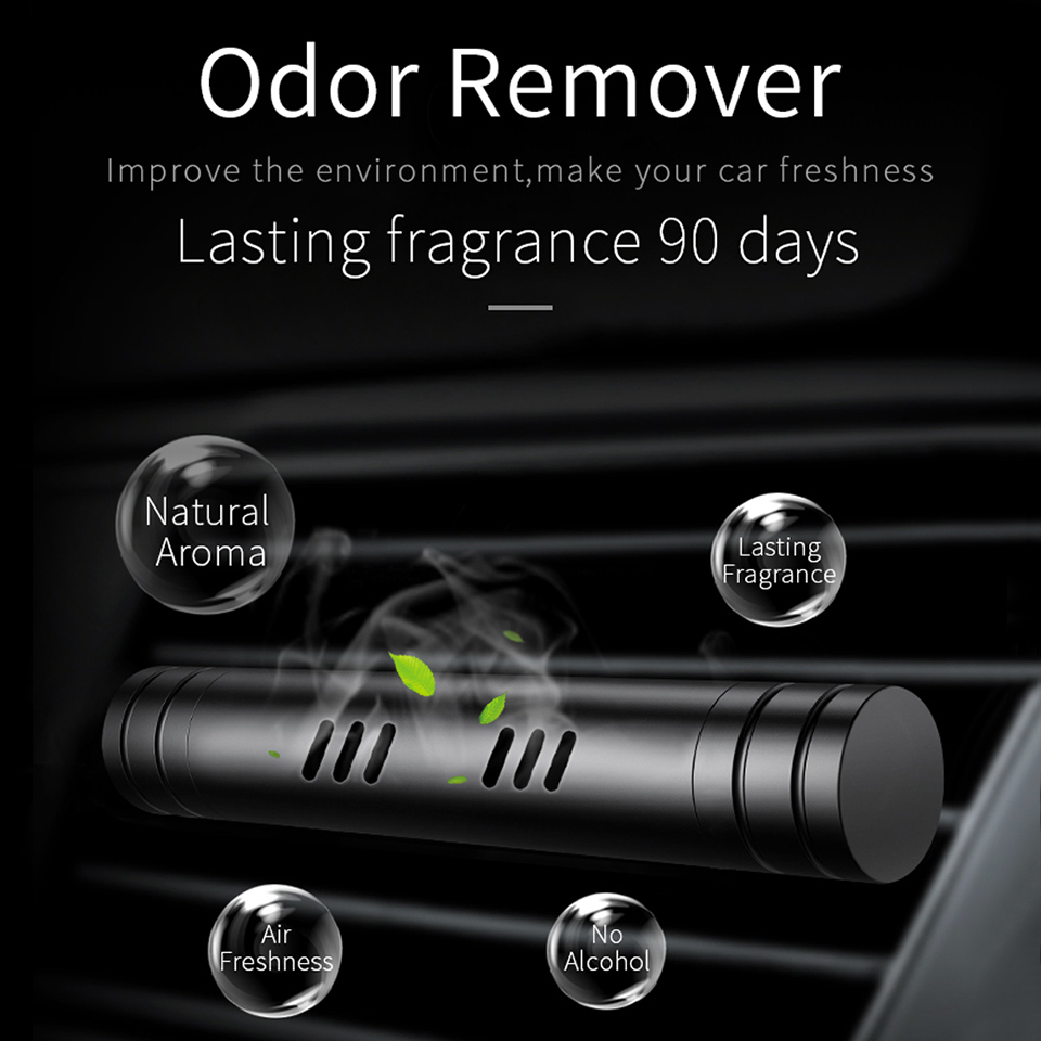 Car Air Freshener Perfume Metal Decoration Aroma Diffuser Purifier Solid Clip Aromatherapy Clamp Auto Vent Fragrance Car-Styling