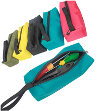 1PC Tool Bag Oxford Canvas Waterproof Multifunctional Storage Tool Bag For Electrician Carpenter