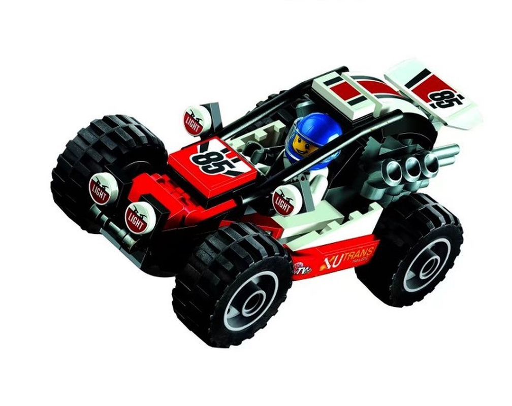 Model Building Blocks Discreet 10644 87pcs City Figures Racing Car Sand Buggy Model Building Kits Blocks Bricks Toy Vehicles For Children Compatible 60145 Outstanding Features