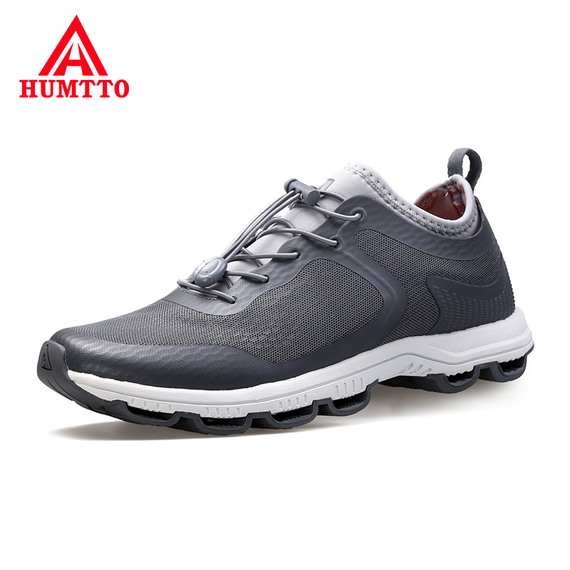 Promo HUMTTUO Light Man Fashion Sneakers Breathable Anti-Odor Non-slip Mens Trainers Summer Casual Men's Shoes Size 39-44