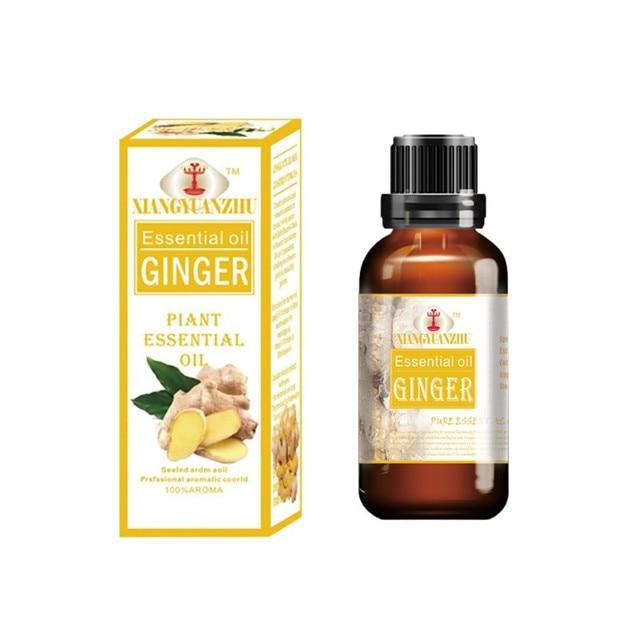 Saç Bakımı | Aromaterapi | Geri | Hurda Sıcak zencefil yağı 30 ml SPA Vücut Masajı Shujin Aktif