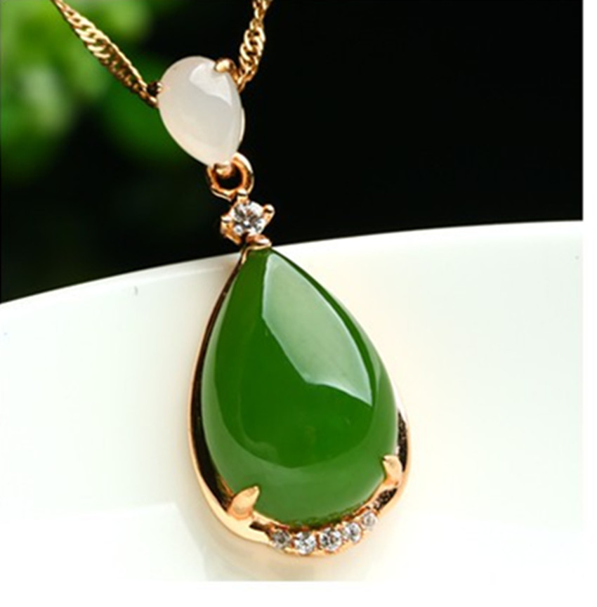 Natural YU pendant genuine 925 silver inlay YU egg noodles a YU necklace pendant accessories female