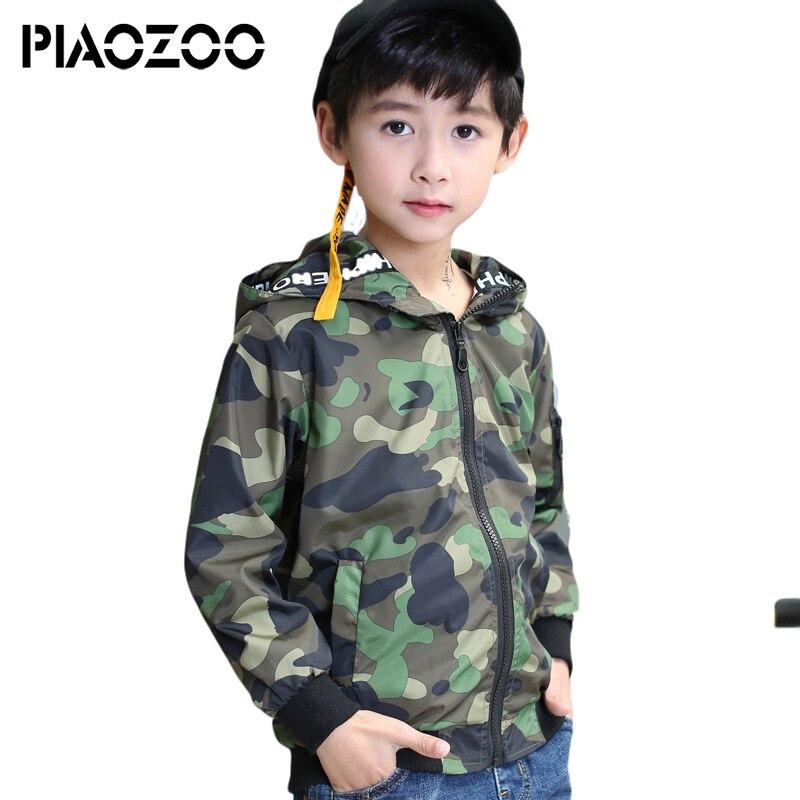 Teen junge armee camo jacke winter uns armee militär uniform teenager jacke camo mantel camouflage jongens hoodie oberbekleidung 2018 P25