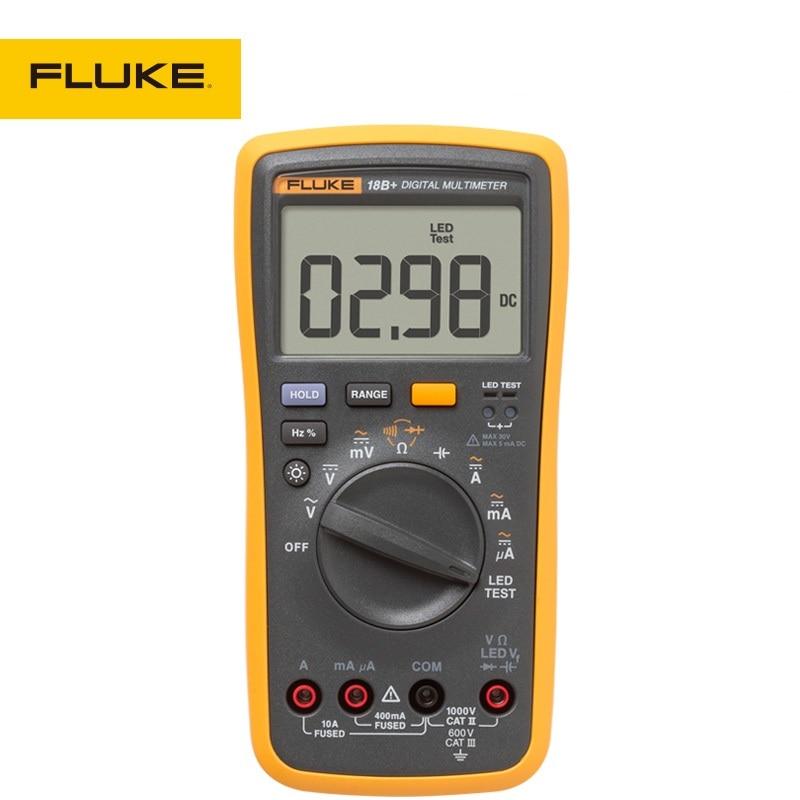 FLUKE Multimeter Digital Automatic High Accuracy 18B+ no battery wharfedale pro delta 18b