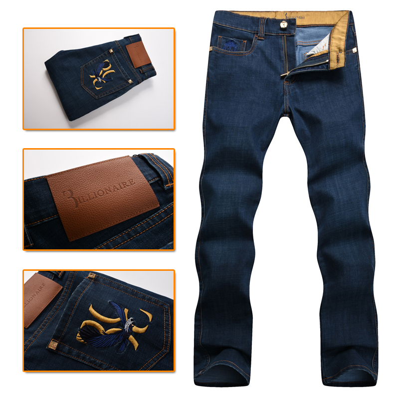 Billionaire italian couture jean men's 2016 new style 100%cotton comfort casual excellent quality embroidered free shipping excellent ava comfort 150 l
