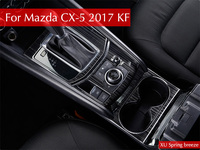 For Mazda CX 5 CX5 2017 2018 2nd Gen LHD Auto AT Gear Panel Stainless Steel