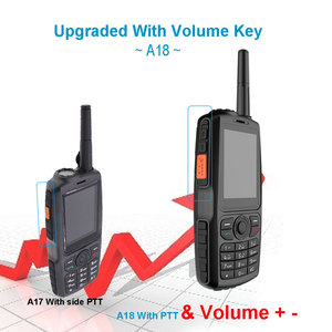Image 5 - A18 Walkie Talkie con UHF 3800mah IP68 impermeable teléfono inteligente Android4.2.2 Dual SIM Smart Radio GPS Zello 3G WCDMA teléfono móvil