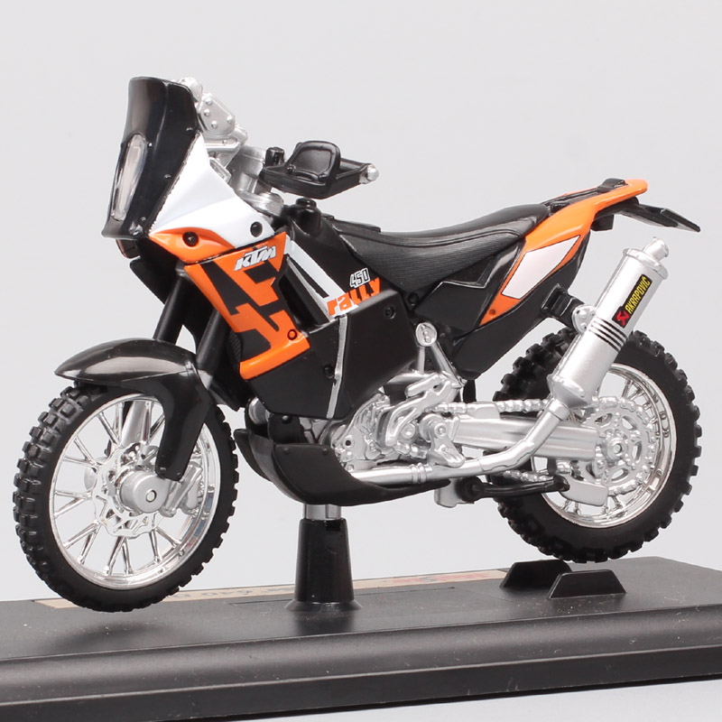 Bburago Modèle de Moto Modèle Moto KTM 450 Course Échelle 1:18