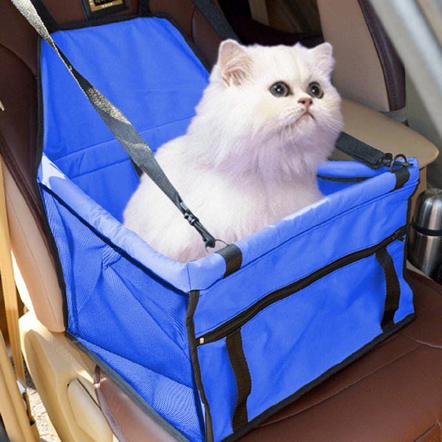 4ee4fce5dff1 Pet Carrier Cat Car Seat Pad Safe Carry House Dog Puppy Bag Car Travel  Accessories Waterproof