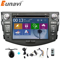 2 Din Android 4 4 Car Player GPS Wifi Bluetooth Radio Quad Core CPU DDR3 Capacitive