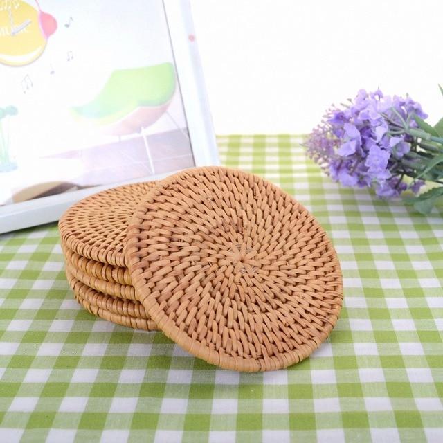 Bamboo Coaster Tea Rattan Mat