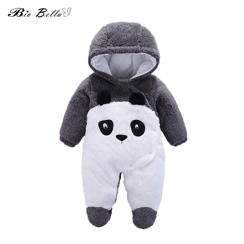 New Baby Girl Boy Clothes Animal Baby   Rompers   Costume Newborn Clothes Pajamas Winter Fleece Clothes Boys Warm Snowsuit Jumpsuit