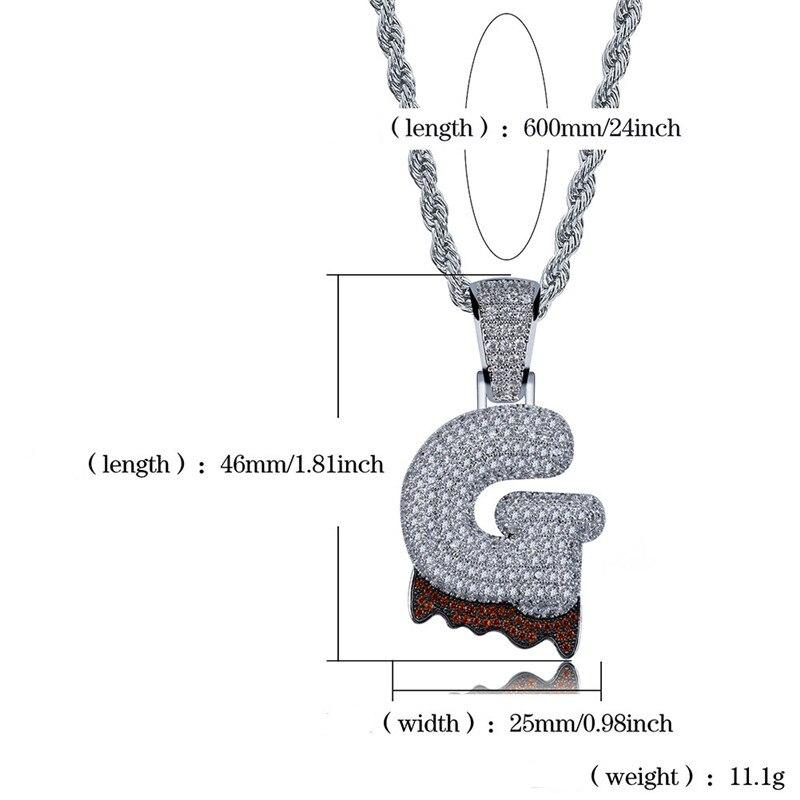 bubble letter necklace46