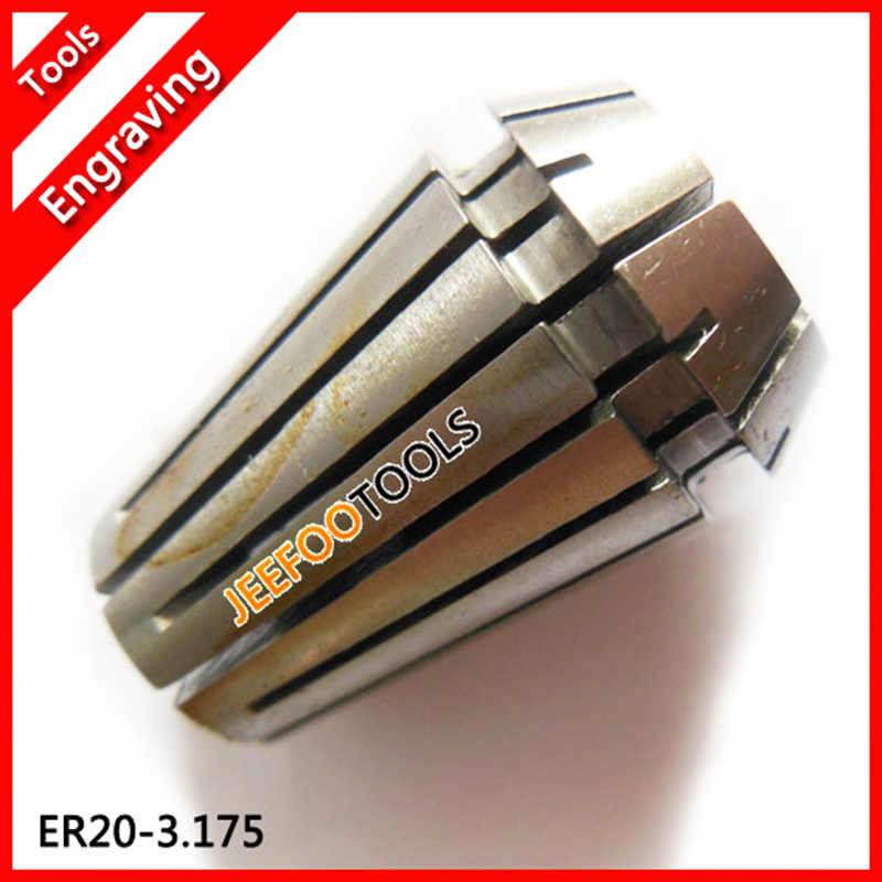 ER20-3.175, pince ER, pince à ressort, écrou ER, plage de serrage pour les outils de fraisage et de fraisage CNC