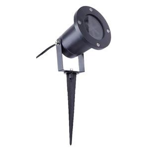 Image 2 - Su geçirmez Hareketli Kar Tanesi Lazer projektör ışık Yılbaşı Yeni Yıl LED Sahne Işığı Açık Kar Partisi Bahçe Peyzaj Lambası