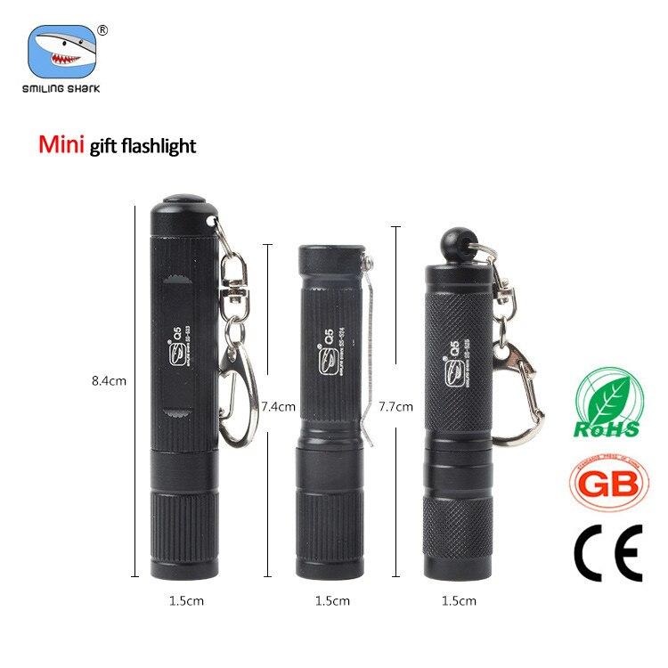 3 PCS Q5 LED Torch Brightness Gift Mini  Flashlight