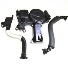 3 Stücke 100% Echte Öl Wasserabscheider PCV Auslassventil + Exhaust rohr Für VW Jetta Golf Gti EOS Passat A4 1,8 2.0TSI 06H103495B