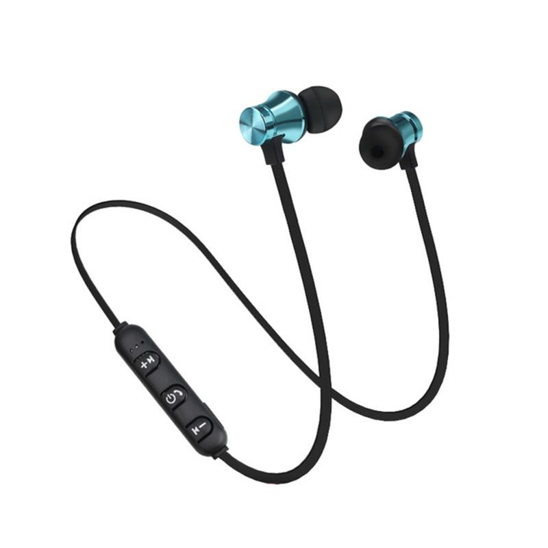 Wireless Magnetic Bluetooth Earphone S8 wireless headphones sports bass bluetooth headset with mic for phone iPhone xiaomi