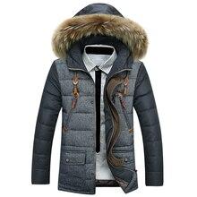 HOT SALE 2016 Men s new winter hooded Down jacket Men s Coats Jackets Men s