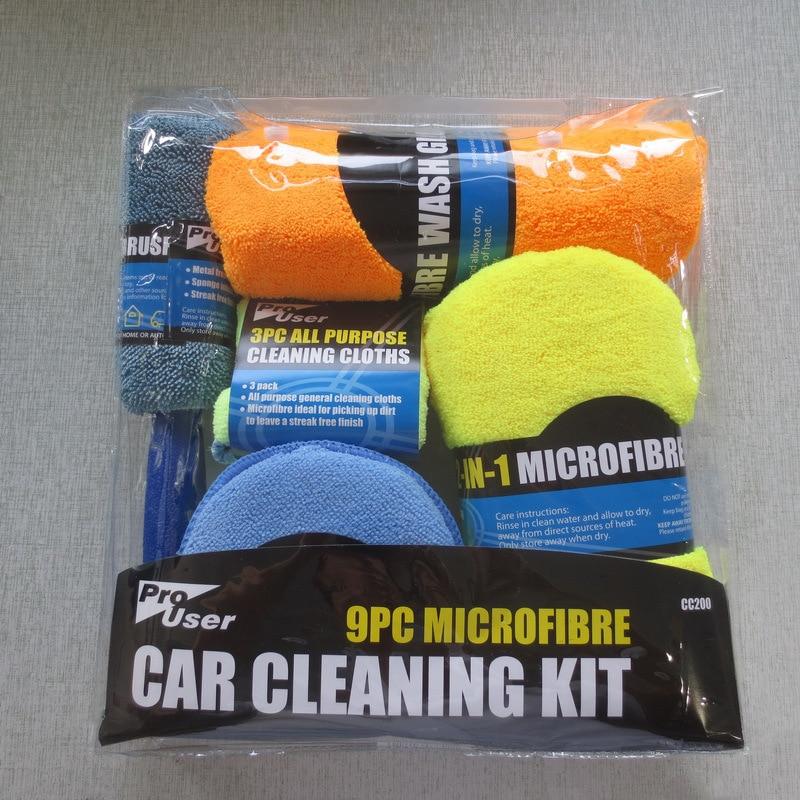kit de limpeza de esponja de depilacao do carro 9 pecas ferramentas de lavagem acessorios de