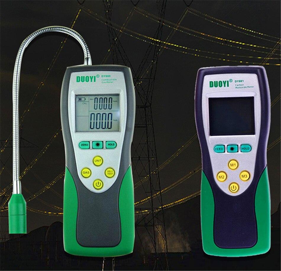 Carbon Monoxide CO Meter Gas Detector Combustible gas detector alarm gas leak detector Gas Analyzer